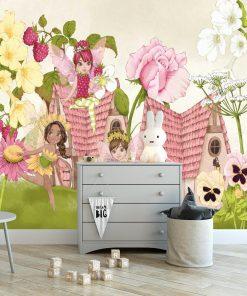 Foto-tapeta kwiatowe strażniczki