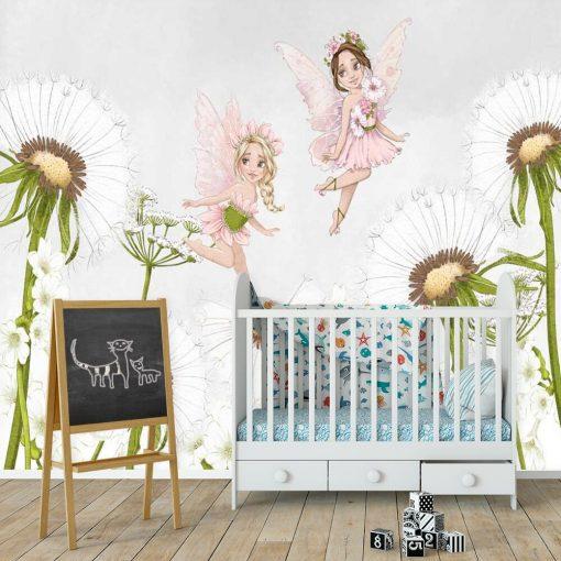 Kolorowa dekoracja do pokoju córeczki
