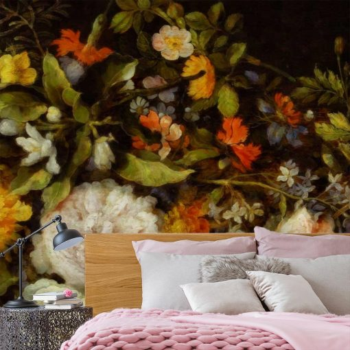 Foto-tapeta z motywem kwiatowym
