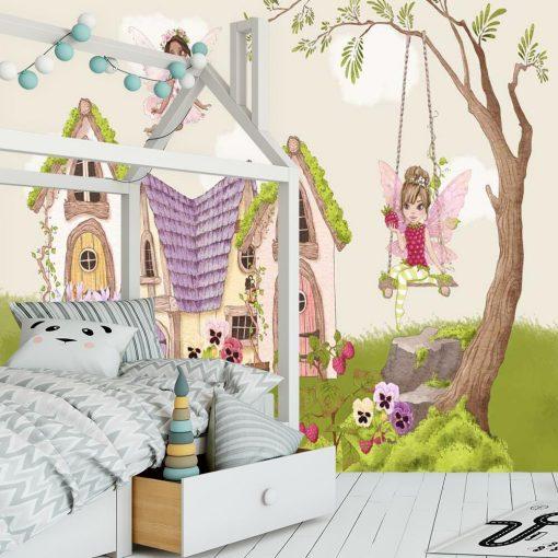 Foto-tapeta z bajkowymi motywami dla dziewczynek