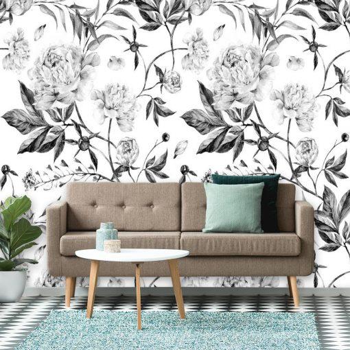 Foto-tapeta w motywy florystyczne