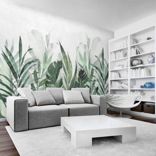 Tapeta - egzotyczne liście