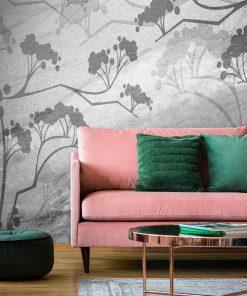 Fototapeta do dekoracji salonu z motywem roślinnym