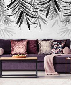 Foto-tapeta z tropikalnymi roślinami