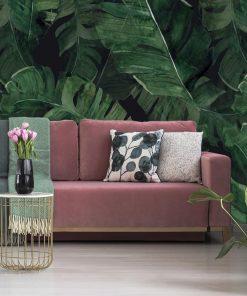 Tapeta liście z tropików