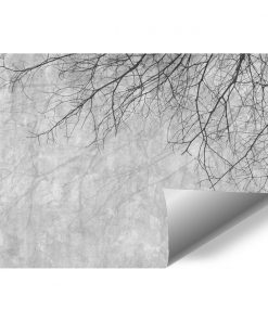 Gałęzie i popiel - fototapeta