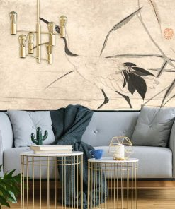 Tapeta inspirowana obrazem Japoński Żuraw