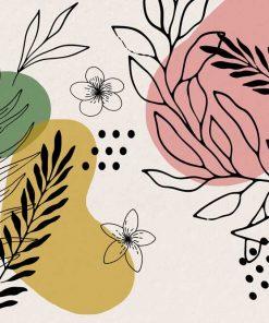 Foto-tapeta z kwiatkami