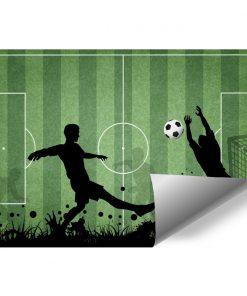 Fototapeta dziecięca z piłką nożną