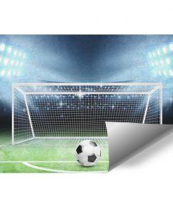 Fototapeta sportowa - Boisko piłkarskie dla chłopca