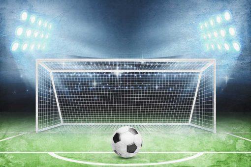 Fototapeta sportowa - Boisko piłkarskie dla przedszkolaka