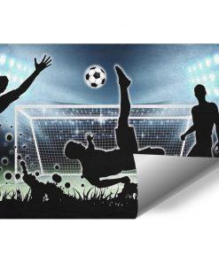 Fototapeta sportowa -Football dla chłopca