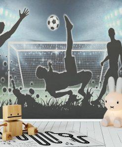Fototapeta sportowa football dla ucznia