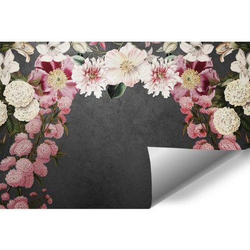 Fototapeta z kwiatami w pastelowych kolorach