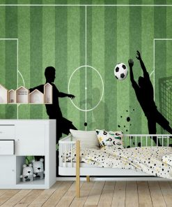 Fototapeta z piłką nożną dla nastolatka