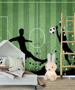 Fototapeta z piłką nożną dla ucznia