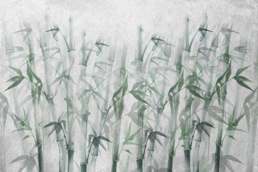 Nowoczesna fototapeta z bambusami