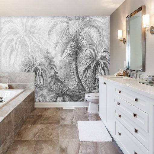 Sensacyjna fototapeta do łazienki - Orientalna przyroda