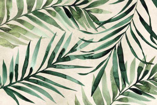 Tapeta palmowe liście