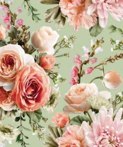 Tapeta z kwiatową kompozycją - Róże