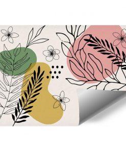 Tapety z abstrakcja i kwiatuszkami
