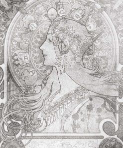 Zodiak - Fototapeta z reprodukcją do restauracji