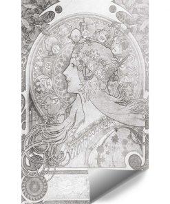 Zodiak - Fototapeta z reprodukcją na klatkę schodową