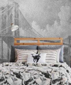 Fototapeta z mostem brooklińskim do pokoju