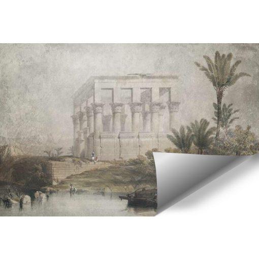 Fototapeta ze świątynią w Egipcie do salonu