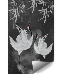 Fototapeta z ptaszkami