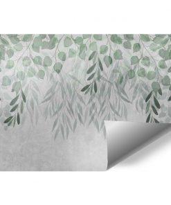 Motywy botaniczne na tapoecie do dekoracji sypialni