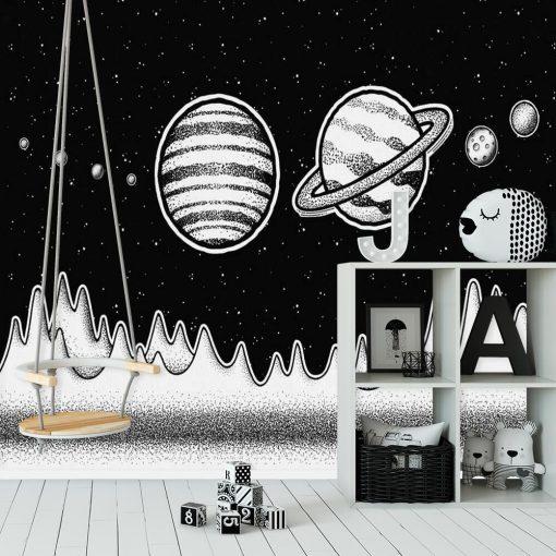 Tapeta z Saturnem